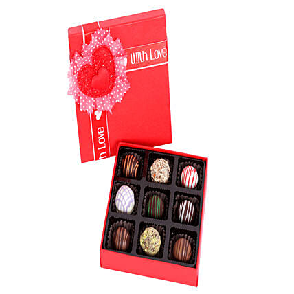 Assorted Chocolates Online:Handmade Chocolate Box