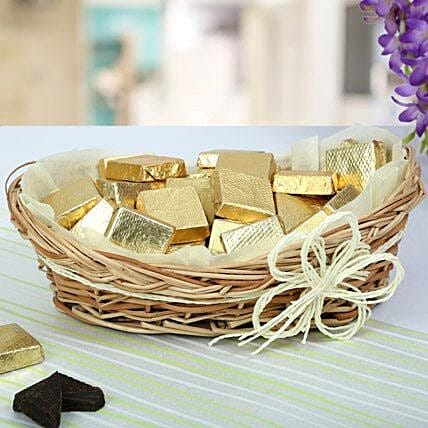 Handmade Chocolate basket:Gifts for Pongal