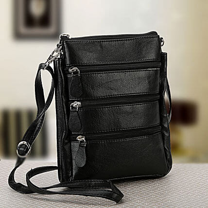Unisex sling bag:Send Leather Gifts