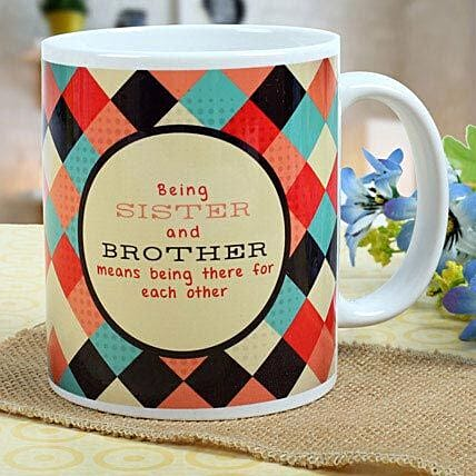 A Mug of love Rakhi Gifts for Brother