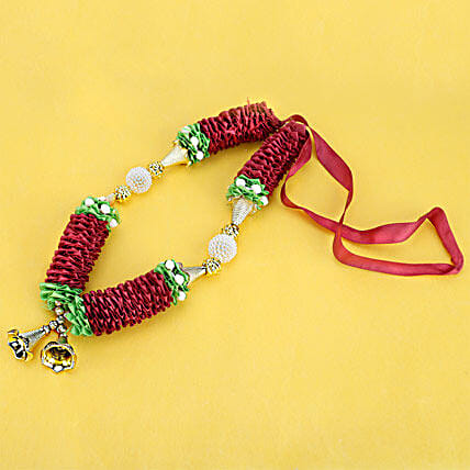 Necklace to Charm-9 inches Ribbon Mala