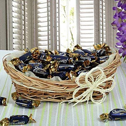 Cadbury Chocolate Candy Basket