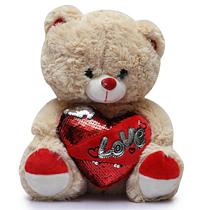 Online Love Teddy Bear