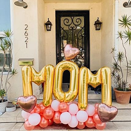 Adorable MOM Balloon Bouquet