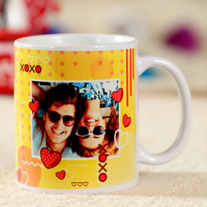 Adorable Personalised White Mug