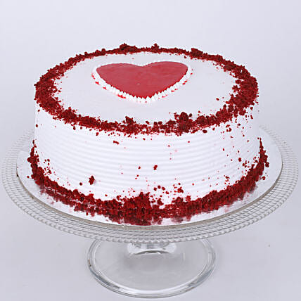 I Love You Cake:Red Velvet Cake