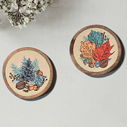 Colorful Haindapinted Coasters