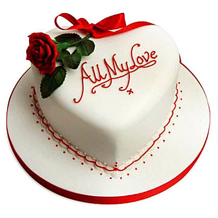 All My Love Cake 2kg Eggless Chocolate