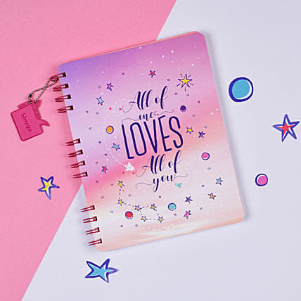 Personalised Love Notebook Online