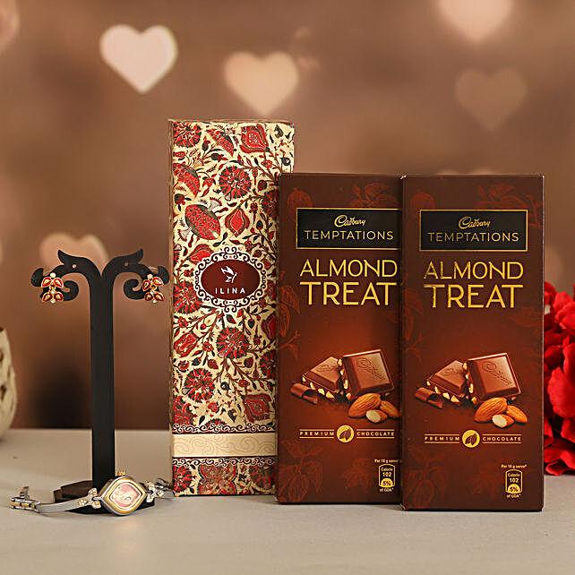 Almond Treat Love Valentine Gift Set:Ilina Gift Sets