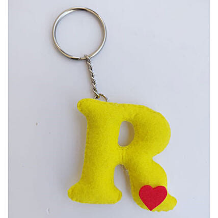 Alphabet Personalised Keychain:Personalised Keychains