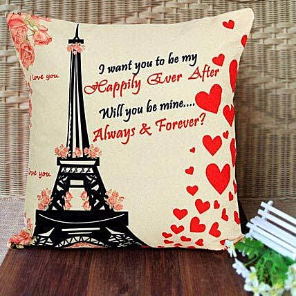 Always n Forever Cushion:Romantic Gifts for Anniversary