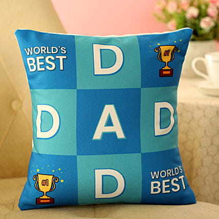 Online Cushion For Dad:Fathers Day Gifts From Daughter