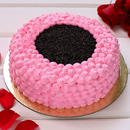 Amazing Pink Chocolate Cake