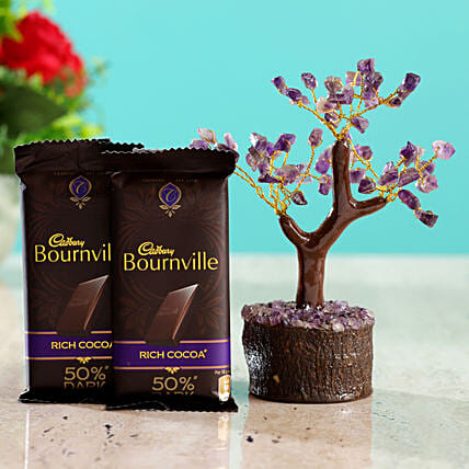 Amethyst Wish Tree & Cadbury Bournville:Buy Christmas Tree