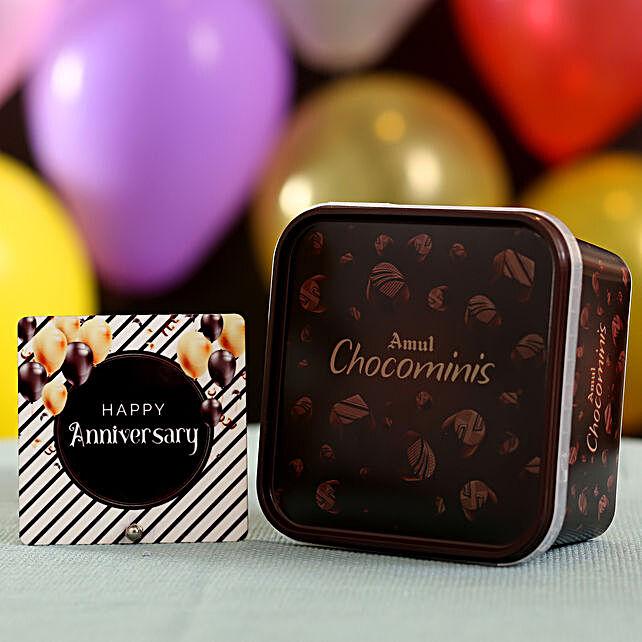 Online Amul Chocominis Anniversary Wishes