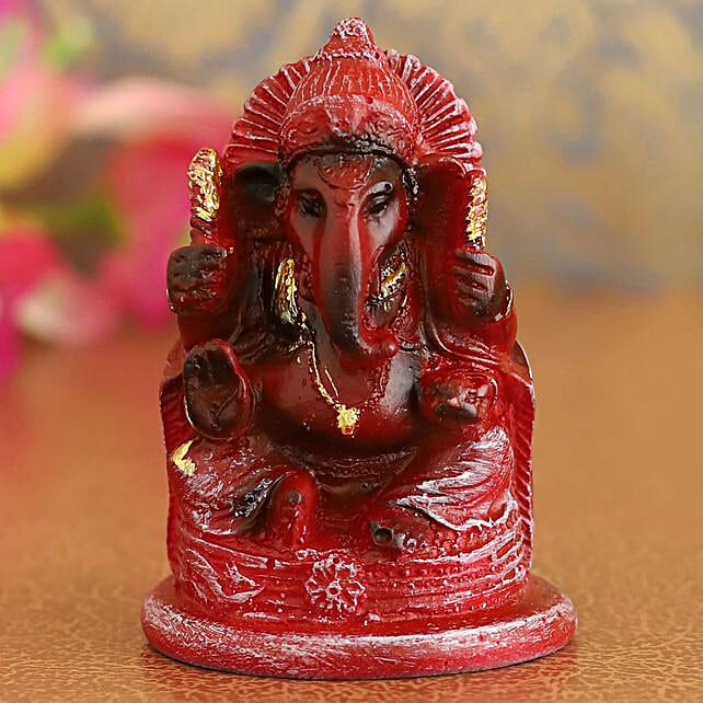 Antique Golden Ganesha Idol:Diwali Idols