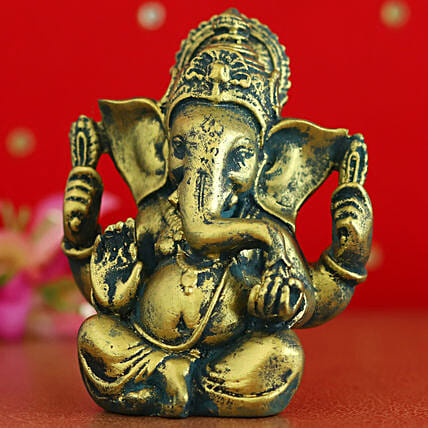 Antique Raja Ganesha Idol