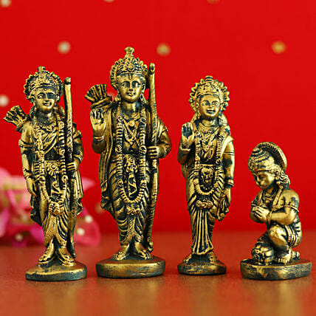 Antique Ram Darbar Idol Set