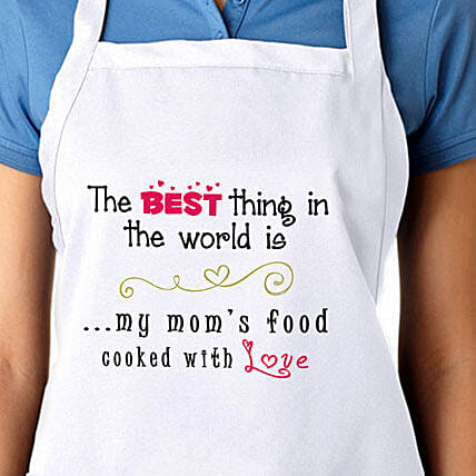 Apron For My Moms Food With Love-Mother Apron:Buy Apron