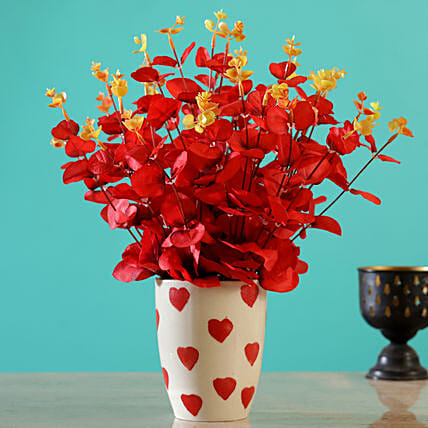 Online Red Artificial Flowers