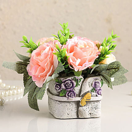 Artificial Flowers with Pot Online