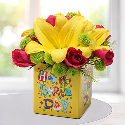 Flower Bouquet For Birthday:Send Chrysanthemums
