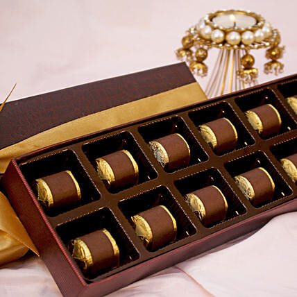 Assorted Festive Chocolate Box- 12 Pcs
