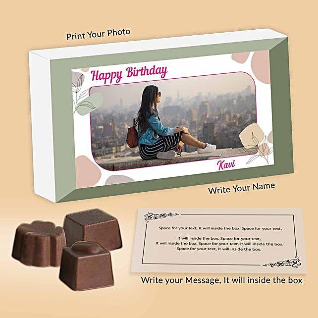 Assorted Personalised Birthday Chocolates