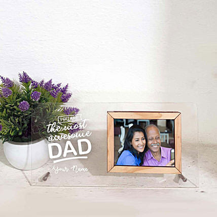 personalised photo frame for dad:Photo Frames for Fathers Day