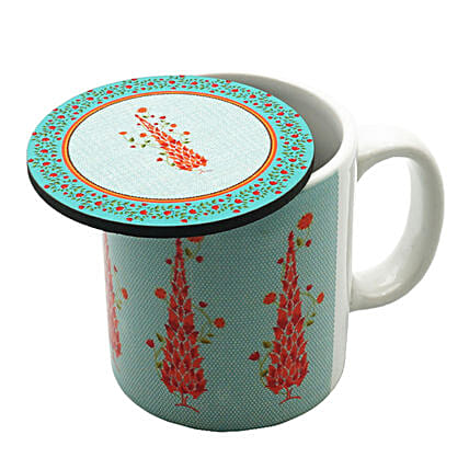 Buy Online Mug With Coaster