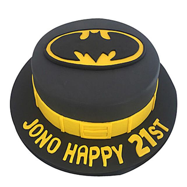 Batman Fondant Cakes for adults 1kg