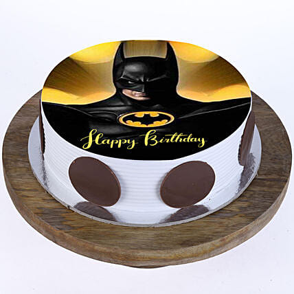 online cartoon cake for kid:Superhero Birthday Cakes
