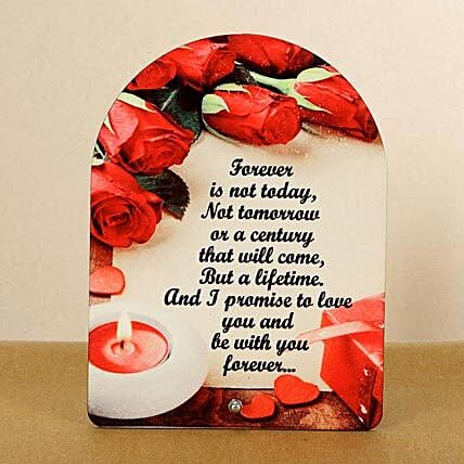 Be With You Forever Plaque