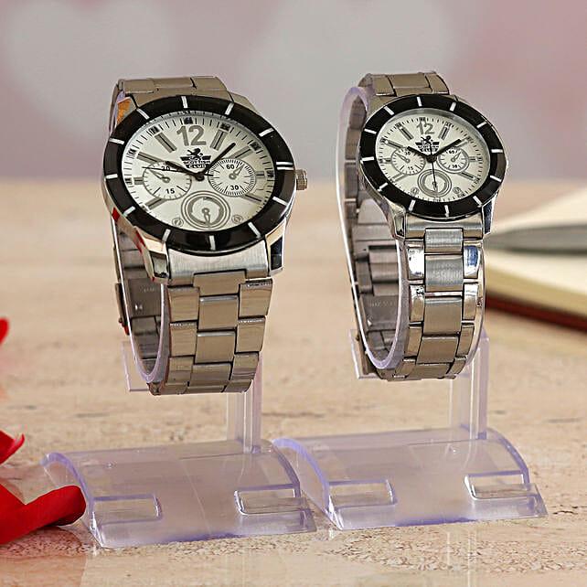 Beautiful Couple Watch Combo