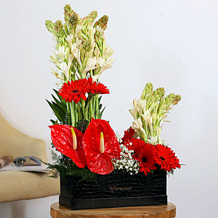 flower arrangement online:Send Anthuriums
