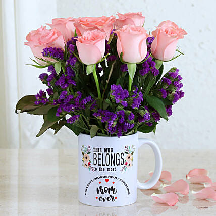 Beautiful Flowers For Best Mom Ever:Mothers Day All Gifts