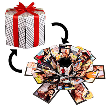 Online Beautiful Memories Explosion Box:Explosion Box