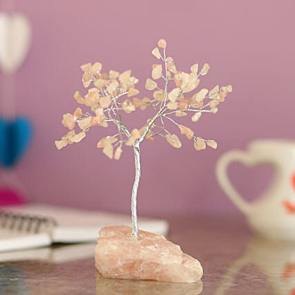 online rose quartz wish tree for love n romance:Wish Trees