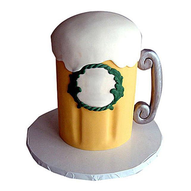 Beer Cake 2kg Eggless