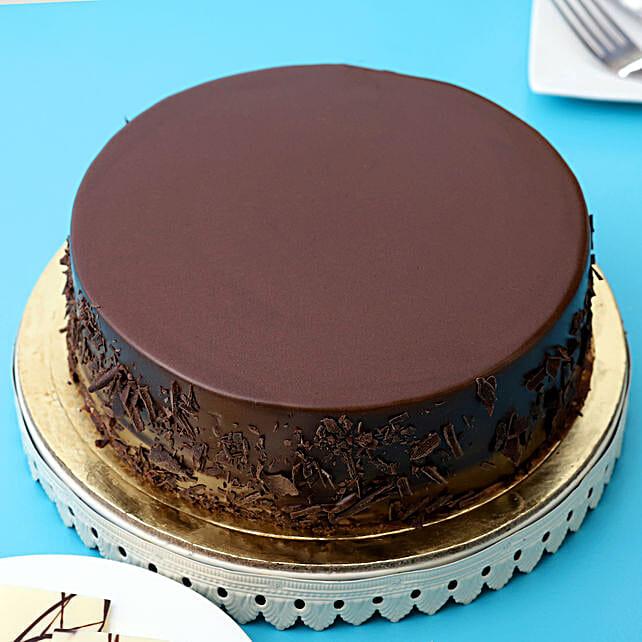 Belgian Choco Cake Half kg:Send Cakes to Madurai