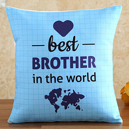 Best Brother In The World Cushion