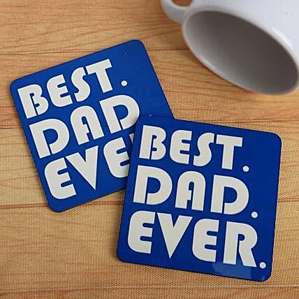 Best dad ever coasters:Coasters