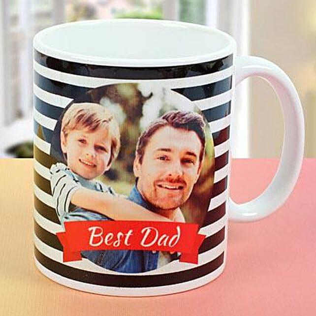 Best Dad Personalised Picture Mug
