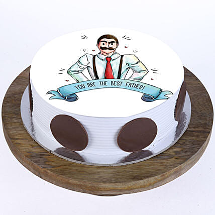 Delicious cake for dad online