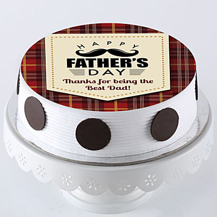 Photo Cake For Fathers Day Online