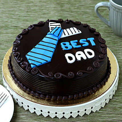 Best Dad Truffle Cake:Fathers Day Gifts From Son