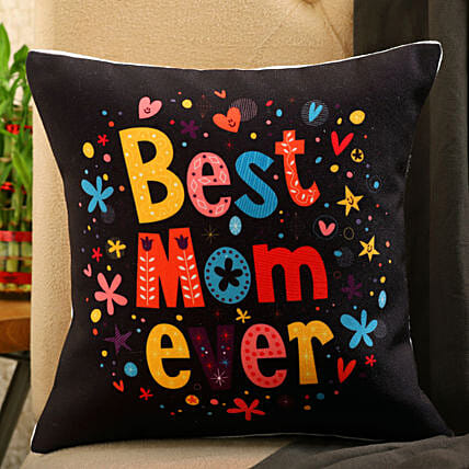 Best Mom Printed Cushion