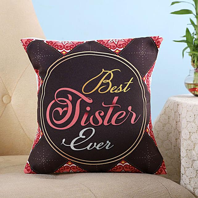 best sister cushion for raksha bandhan