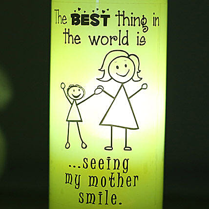 Best Smile Lamp-1 yellow coloured mothers smile lamp